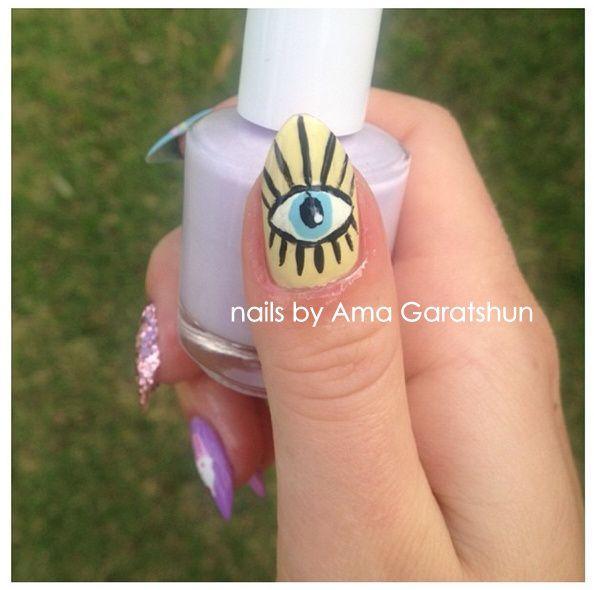 Easter nails 🐇🐰 nail art | Easter nails, Nail art, Natural