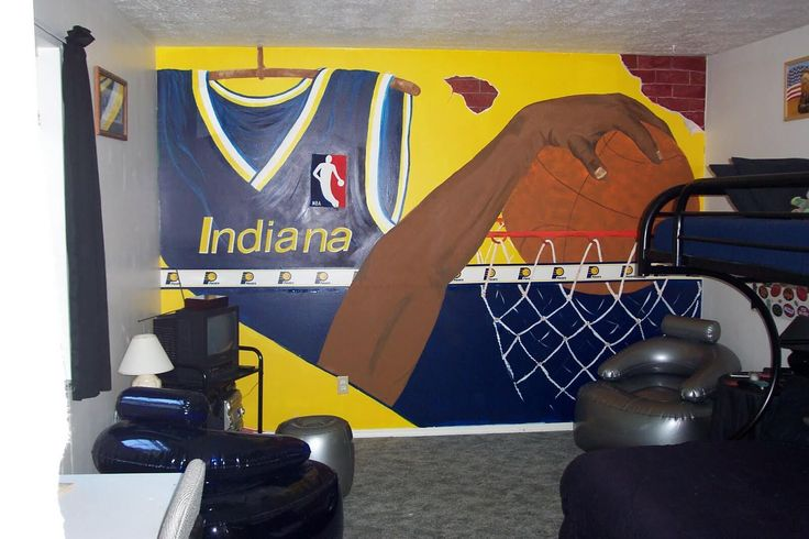12 Inspirational Ideas For Decorating Basketball Themed Kids Room