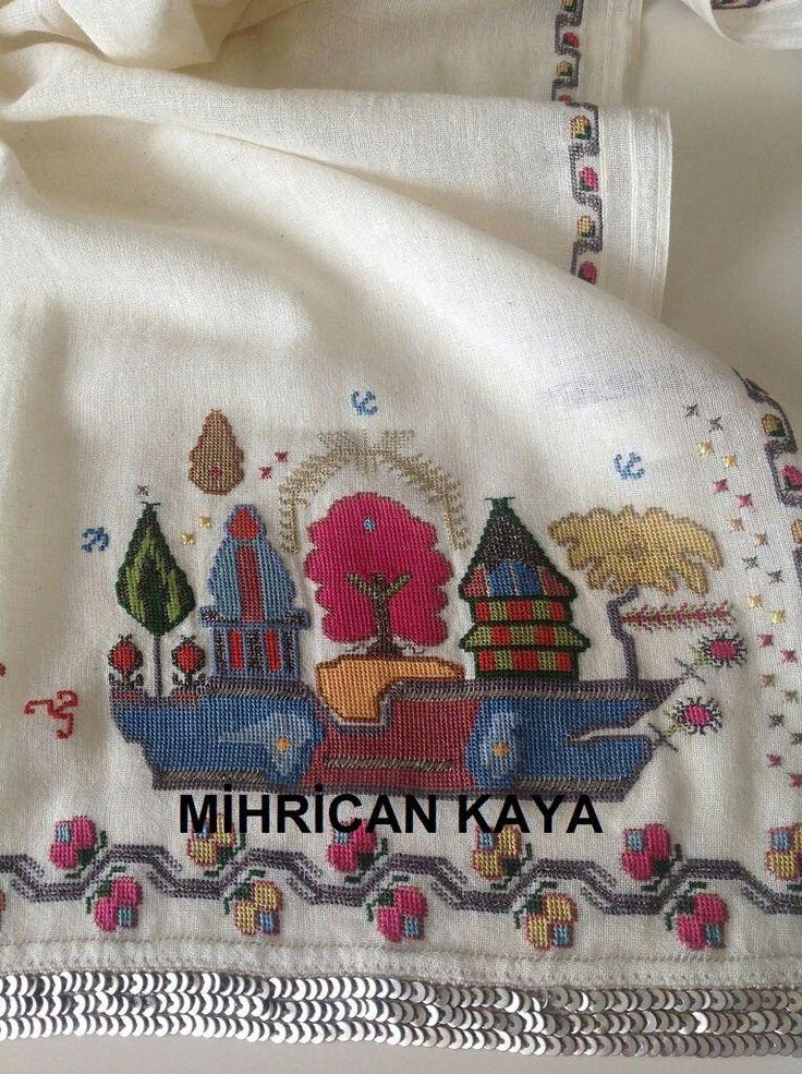 Hesap işi.Yöresel dokuma,ipek iplik. #shipdesign #handmade #embroidery