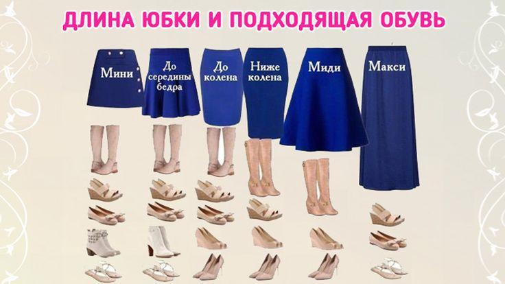 Чтобы образ смотрелся гармонично, важна каждая деталь, особенно правильно подобранная обувь. Предлагаем вам ориентир по созданию модного образа — какую обувь выбрать под юбки разной длины...