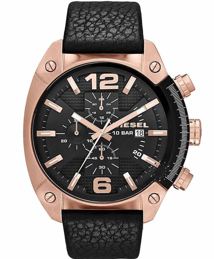 DIESEL Overflow Chrono Stainless Steel Bracelet Η τιμή μας: 175€ http://www.oroloi.gr/product_info.php?products_id=35317
