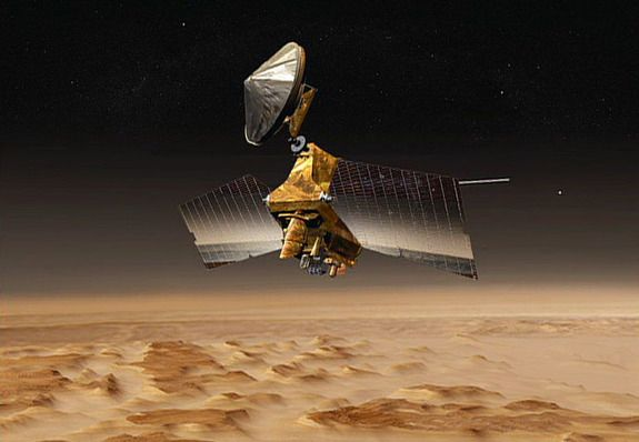 Eagle-Eyed NASA Mars Probe Celebrates 10 Years at Red Planet http://whtc.co/9143