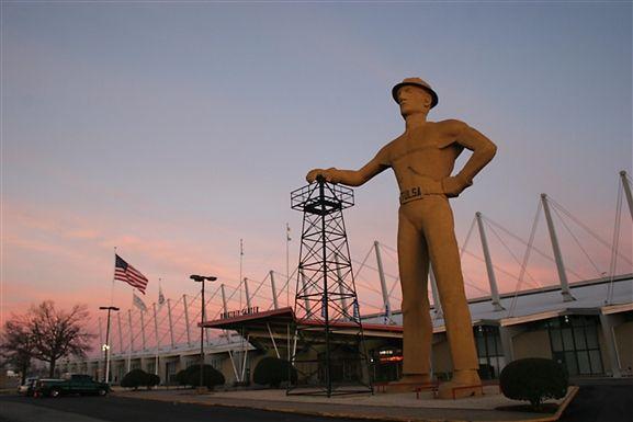 Golden Driller, Expo Square Tulsa, OK