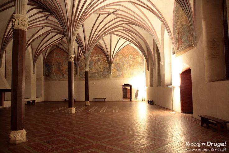 Nocne zwiedzanie zamku w Malborku