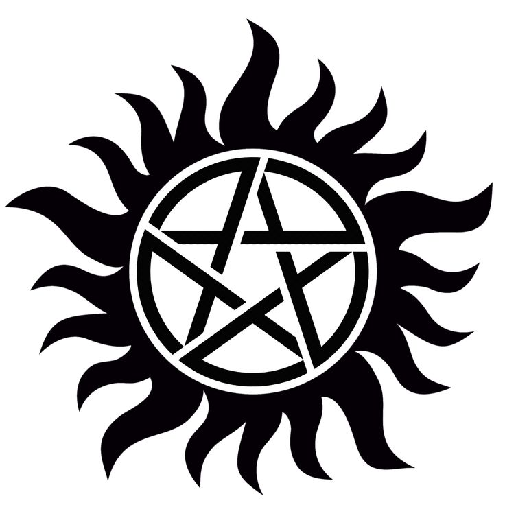 Supernatural Anti-Possession Symbol