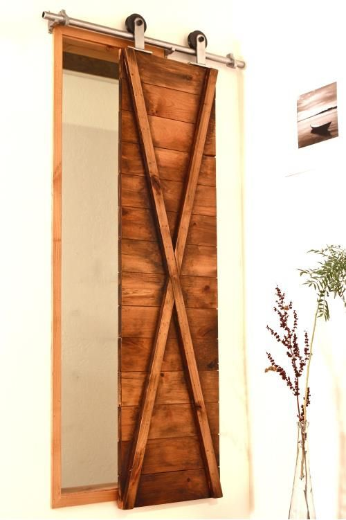 Did you ever think about using barn door shutters as window covering in your home?