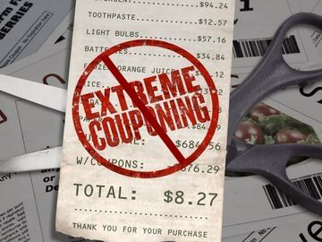 Make sure you know the rules when you use coupons.  The Point of Couponing – To Cut You Grocery Bill     The truth is anyone can use coupons to reduce their grocery bill. You don't have to be extreme to save money. So be smart, shop with coupons and seek out the best deals, but keep it real by expecting to save some money, rather than expecting to never pay for groceries again.