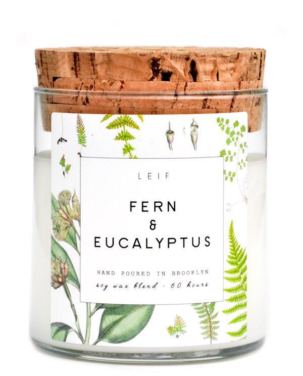 LEIF Fern & Eucalyptus Botanist Candle