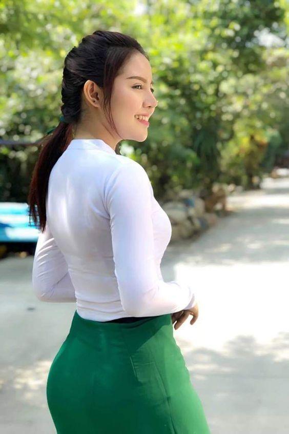 Myanmar Cute New Face Model: Nann Thuzars Lovely Fashion