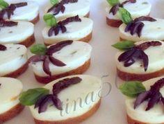 Mini cheesecake alla mediterranea