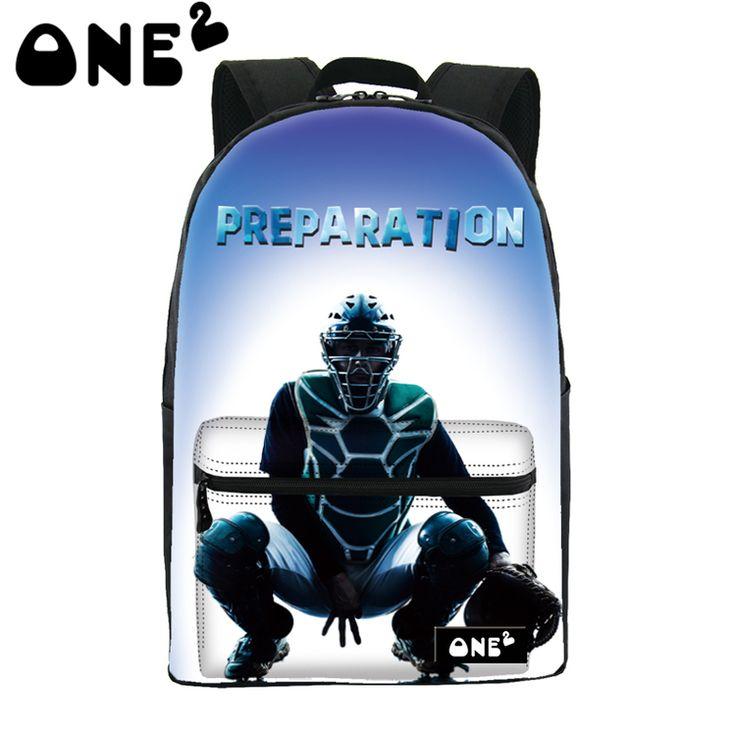 ONE2 Design brand korean style backpack 3D wholesale computer backpack for boys girls women lady men students