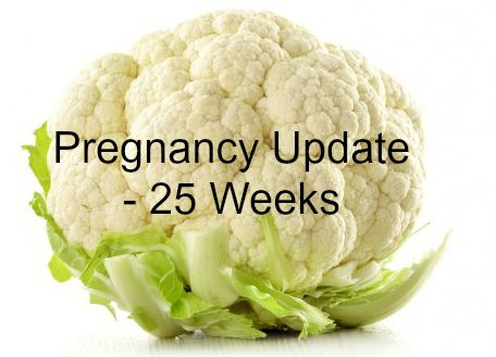 Weekly Pregnancy Symptoms & Update - 25 Weeks Pregnant - www.mamamim.com