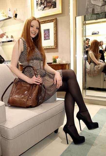 Tranny Heaven: PhotoMs Auburn, Girls Generation, Red Hair, Beautiful, Tights, Legs, Crossdressing Photos, Gingers, High Heels