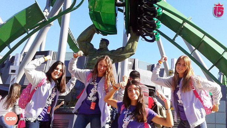 Hulk no existís!  Estamos en #Disney! #e15 #islandofadventures