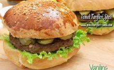 Hamburger Ekmeği ve Köftesi Nasıl Yapılır