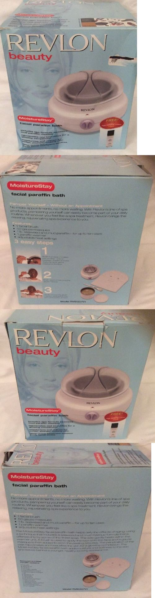 Professional Waxing Warmers: Revlon Beauty Moisture Stay Facial Paraffin Bath -> BUY IT NOW ONLY: $35.0 on eBay!