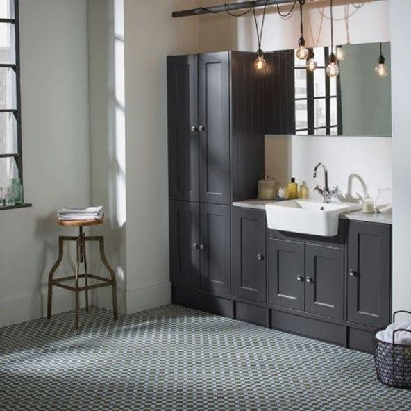 Burford Slate Grey Fitted Bathroom Furniture Roper Rhodes Fitted Bathroom Furniture Fitted Bathroom Furniture