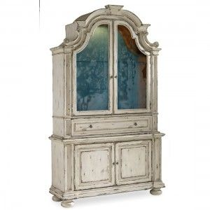 Hooker Furniture Sanctuary Brighton Display Cabinet with Hutch
