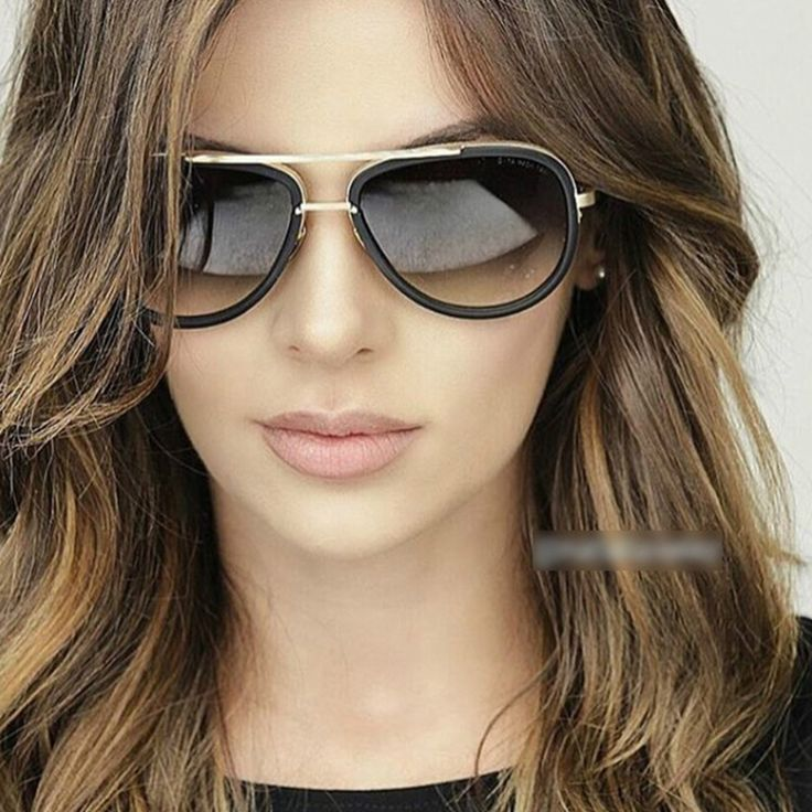 2017 new Big Frame Pilot Sunglasses Women Brand Designer Metal Retro Sun Glasses for Women Men Oculos De sol Female Ladies Gafas