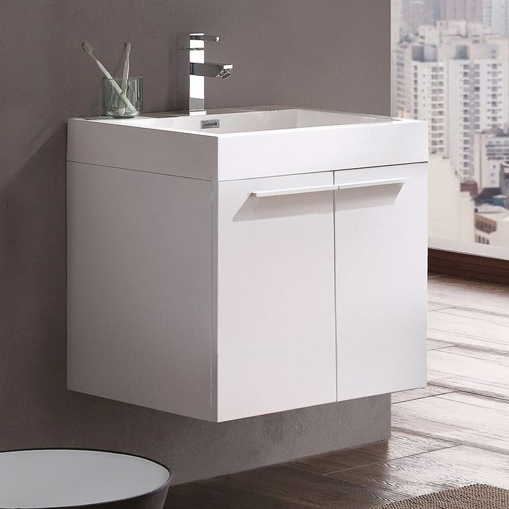 Bathroom Vanity Pulling Away From Wall: 25+ Best White Bathroom Cabinets Ideas On Pinterest