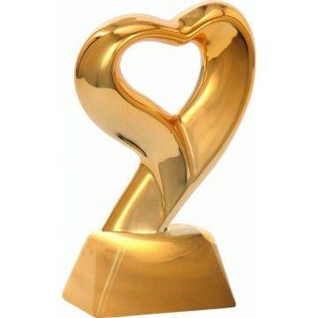 Statuetka  Ceramiczna Serce