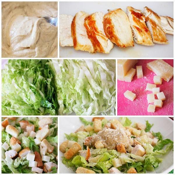 Ensalada César, receta FÁCIL en 1 minuto , La ensalada César es una excelente receta de verano. Aprende a preparar una ensalada César paso a paso. Te enseñamos incluso a hacer la salsa César.