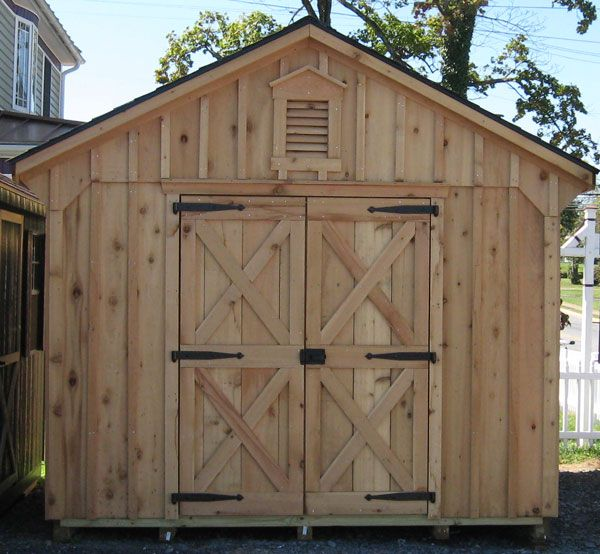 alans factory outlet has a wide selection of cedar storage and cedar garden sheds to place an order call alans factory outlet toll free - Garden Sheds Northern Virginia