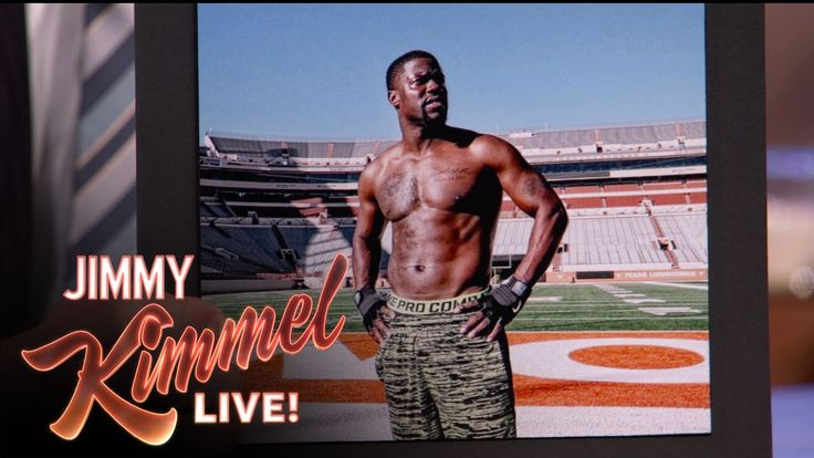 Jimmy Kimmel Live: Kevin Hart Couldn't Handle Working Out With The UT Football Team