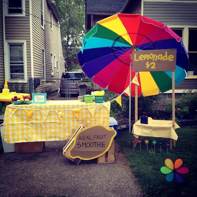 17 best foundation ideas images on pinterest lemonade for Lemon shaped lemonade stand