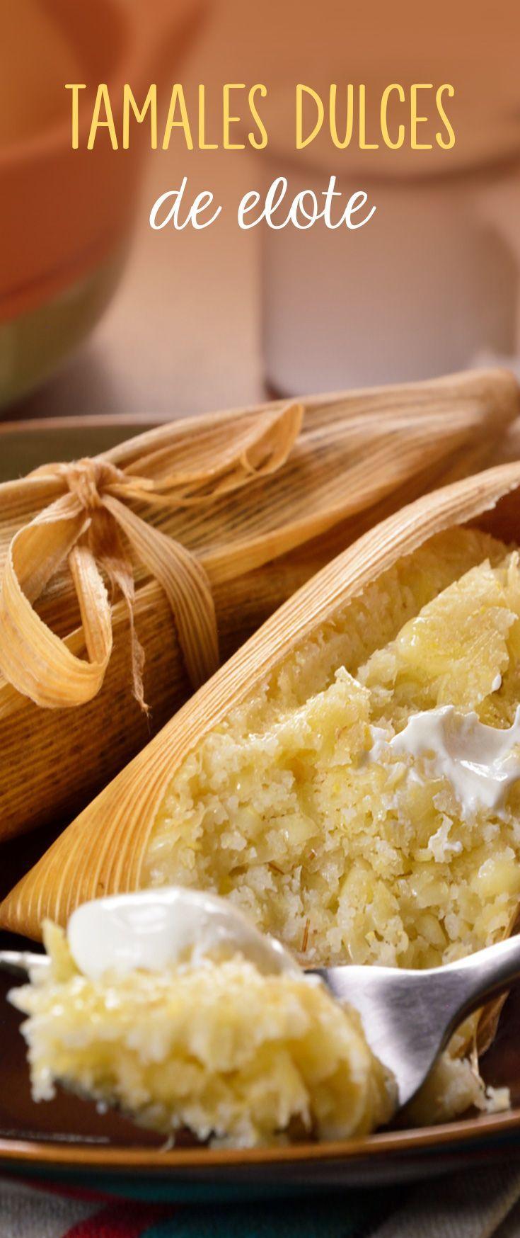 Prepara estos tamales de elote son típicos de México, Guatemala y Perú donde les llaman uchepos, guapos o humitas. La masa de estos tamales se hace a base de maíz tierno y se sirve con crema, queso, salsa roja o con leche condensada. Una receta mexicana ideal para día de Muertos o el Día de la canderlaria.