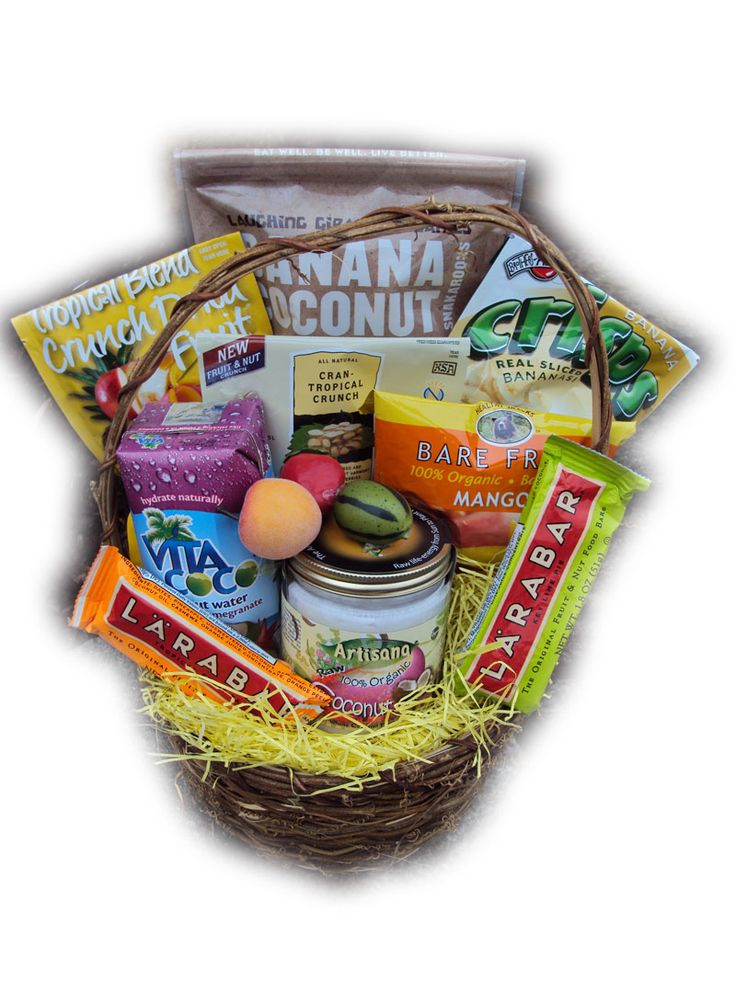 Taste of the Tropics Healthy Gift Basket
