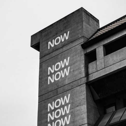 Looking up: four images with friendlier signage on urban buildings. #lookingup, #signage, #city, #graphic #design