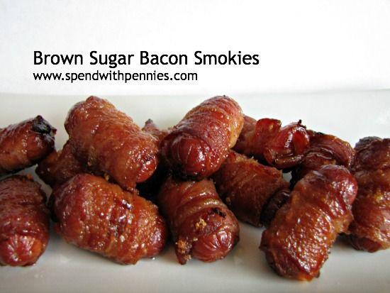 Brown Sugar Bacon Smokies