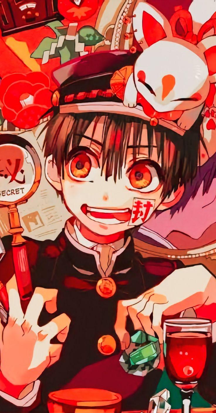 ͡ꦿꦼ🌃 in 2020 Cute anime wallpaper, Anime wallpaper, Hanako