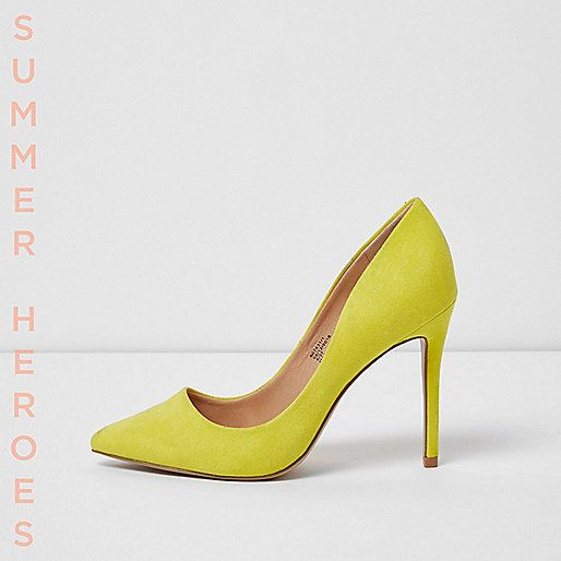 Yellow court shoes - shoes - shoes / boots - women