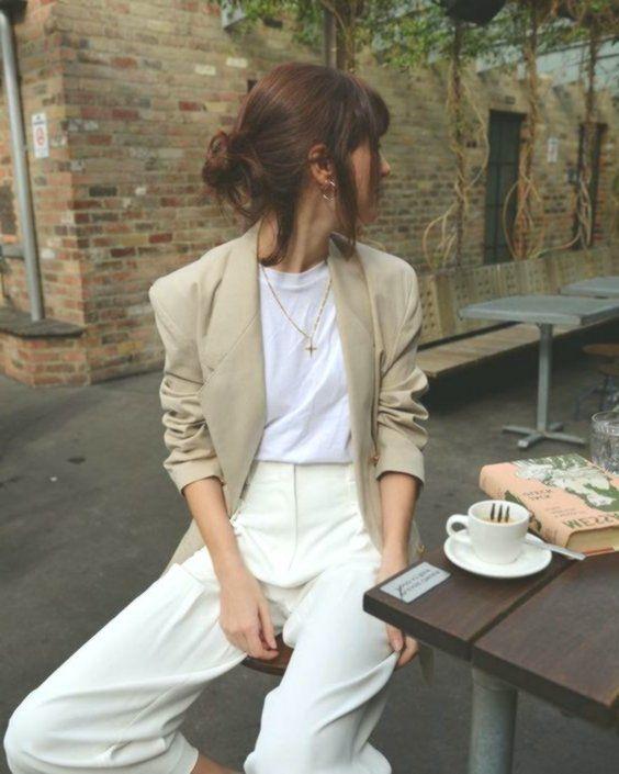 minimalistic fashion | minimalistic style | minimalistic outfit inspiration - #F...  #frisyrer #Frisuren #nouvellecoiffure #hairst
