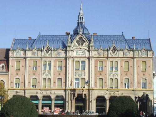 Hotel Dacia in Satu Mare, Romania.