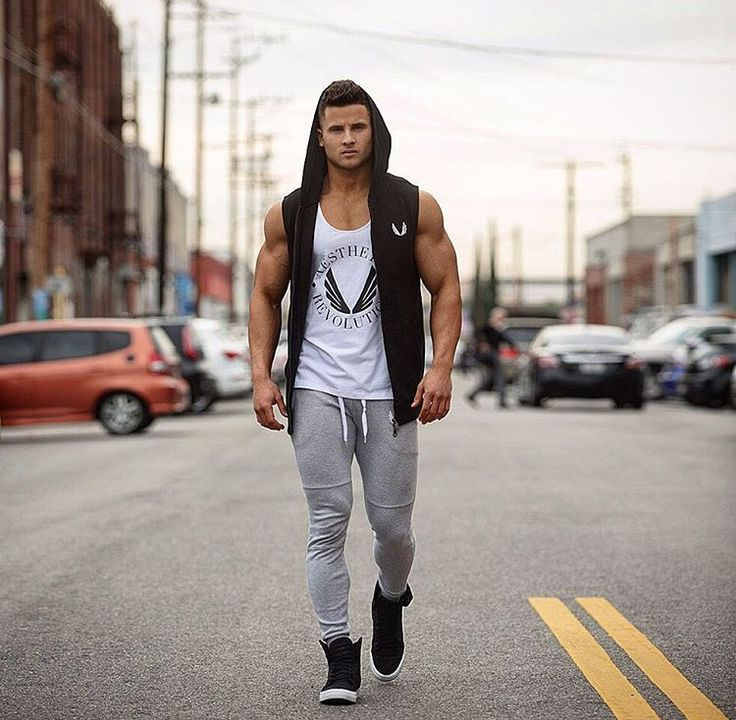 Fitness Lifestyle Fashion Featuring Us Model Dominick