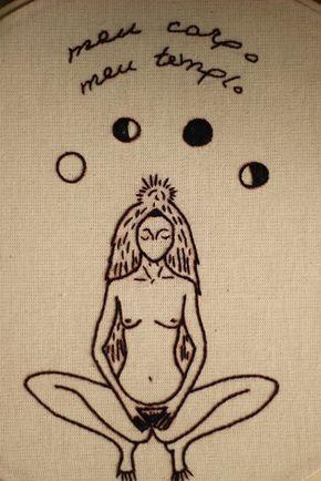 sagrado feminino {bordado subversivo}