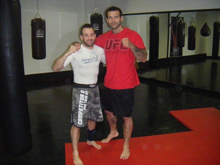 With Alessio Sakara Ufc Fighter , Rome 2012