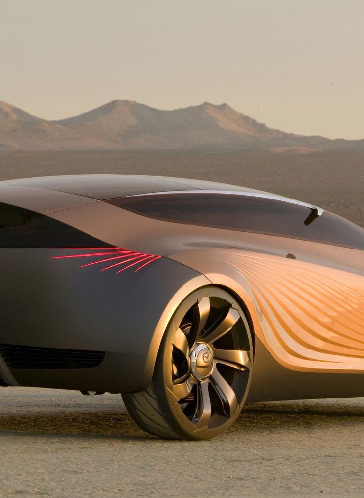 концептуальные автомобили mazda nagare concept car