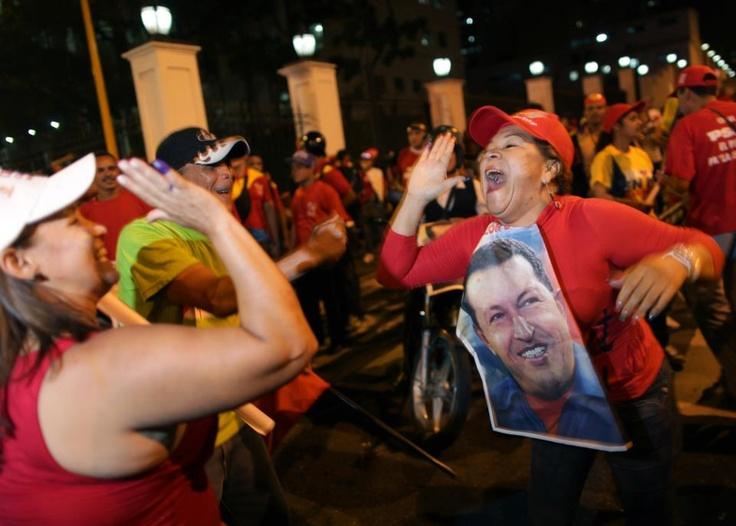 Elecciones en Venezuela: Chávez ganó y es elegido nuevamente --> http://www.diariopopular.com.ar/notas/132686-elecciones-venezuela-chavez-es-reelecto-presidente