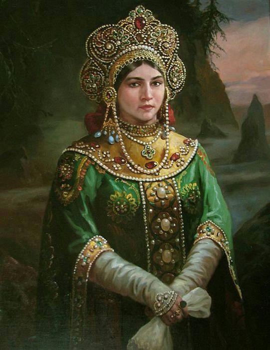 Виктория Славянка - Славянские мотивы в картинах современного художника Андрея Шишкина