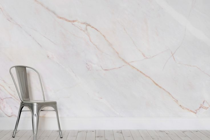 Cracked Natural Marble Wallpaper