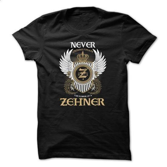 ZEHNER Never Underestimate - teeshirt #womens tee #tshirt kids