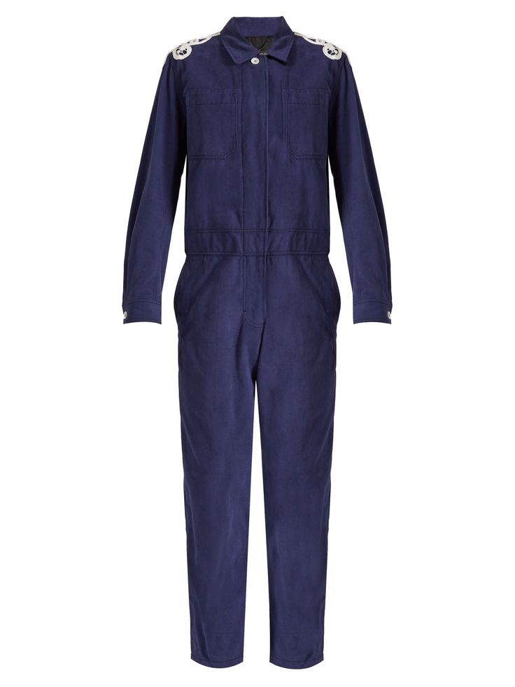 Burberry Jumpsuit with Lace