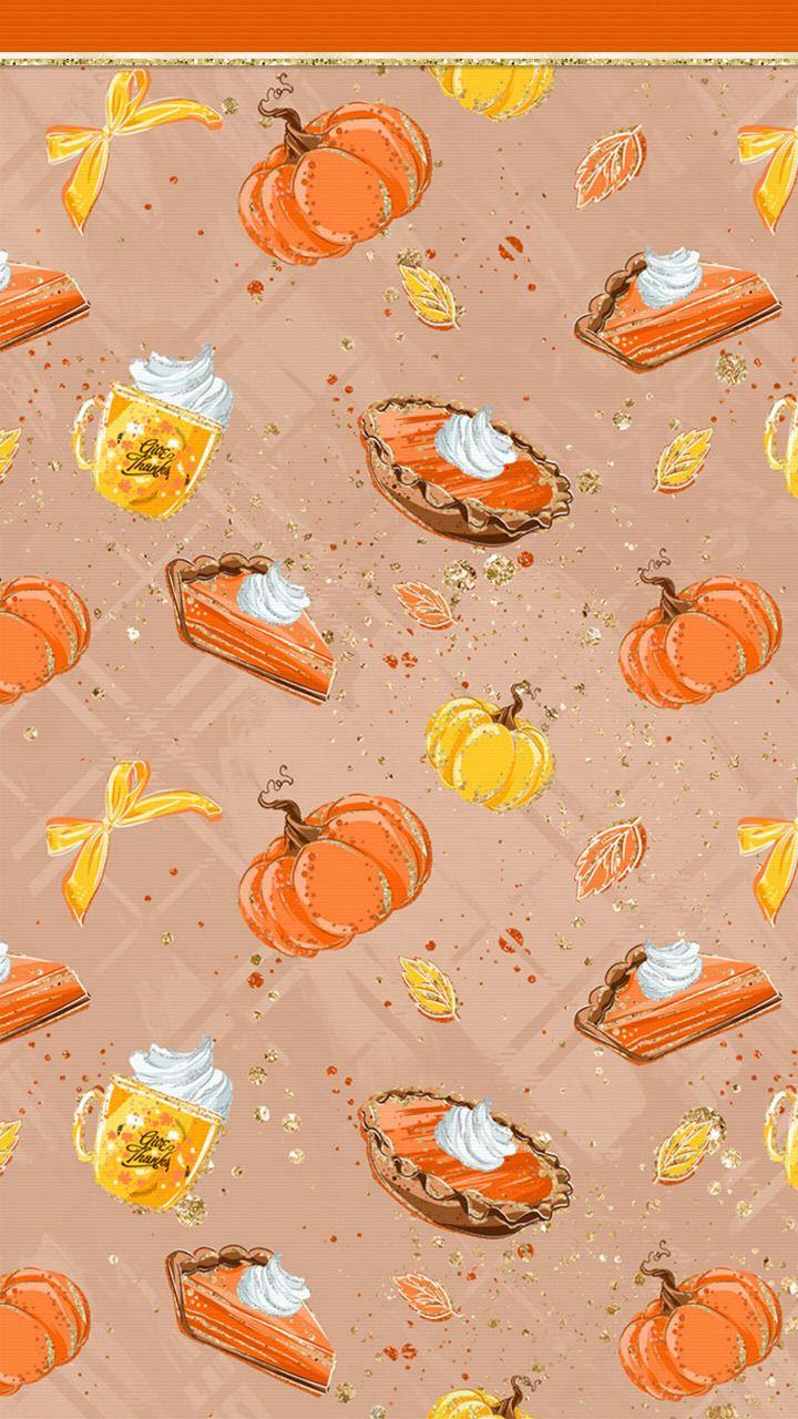 Wallpapers Autumn Pumpkin Wallpapers Pumpkin Wallpaper Thanksgiving Iphone Wallpaper Fall Wallpaper