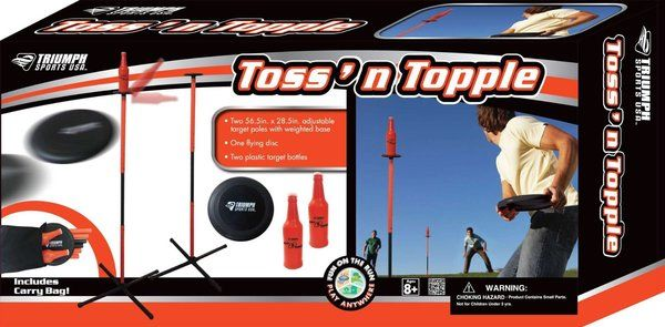 Triumph Sports Toss n Topple Game | GIFTYFIFTY