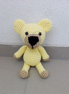 his pattern includes instructions how to crochet a bear step by step, material you will need and some pictures.