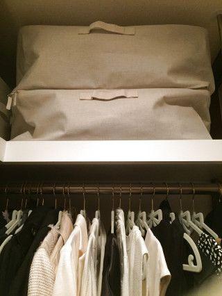 修学旅行用のリュックやボストンバッグも無印良品ですっきり収納!